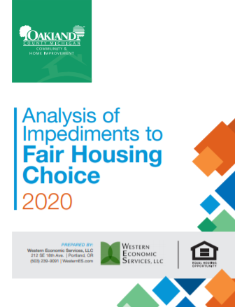 Analysis of Impediments to Fair Housing Choice 2020