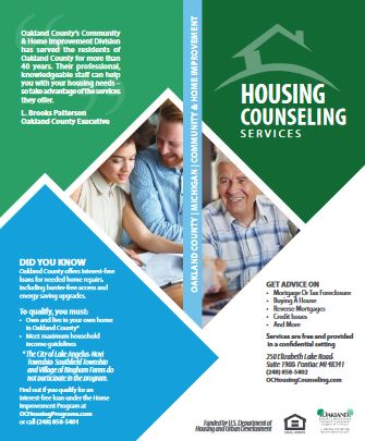 Housing Counseling Brochure-English