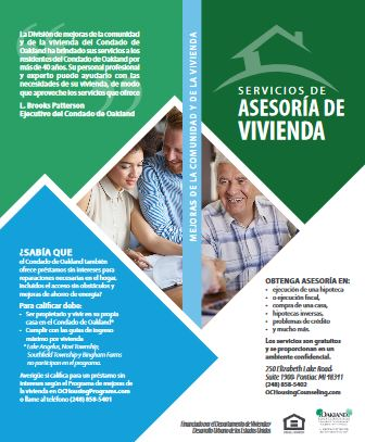 Housing Counseling Brochure - Spanish