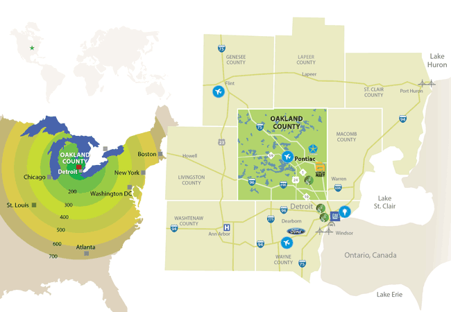 Southeast Michigan's Regional Assets