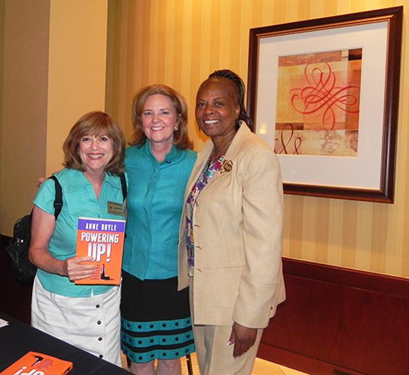 Oakland County Commissioner Marcia Gershenson, event speaker, author, Forbeswoman.com columnist, and Auburn Hills City Councilmember Anne Doyle and Oakland County Commissioner Mattie McKinney Hatchett