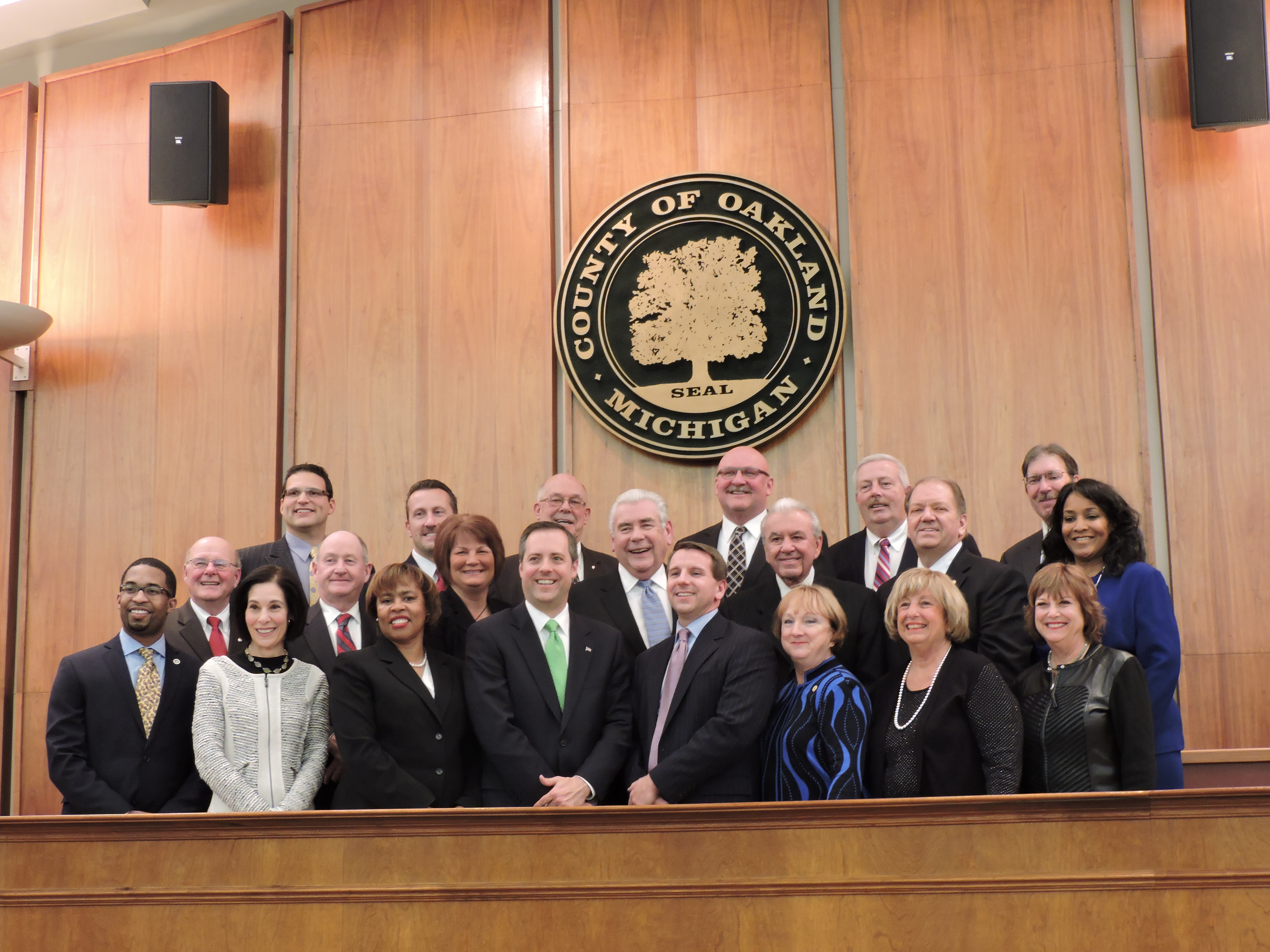2013 Oakland County Board of Commissioners