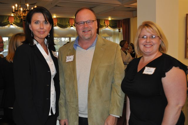Pictured left to right are Waterford Judge Jodi Debbrecht of the 51st District, Oakland County Commissioner Jim Runestad and Waterford Township Clerk Kari Vlaeminck