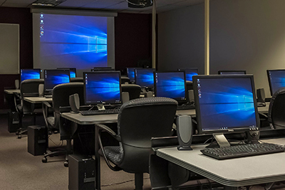 The IT Computer Lab and Training Center