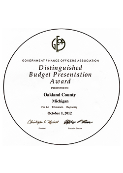 Distinguished Budget Presentation Award Logo