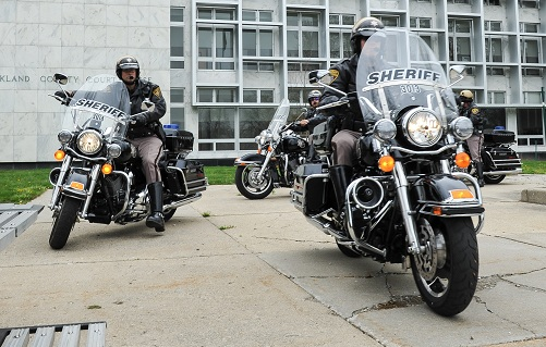 Oakland County Sheriff Motorcycle