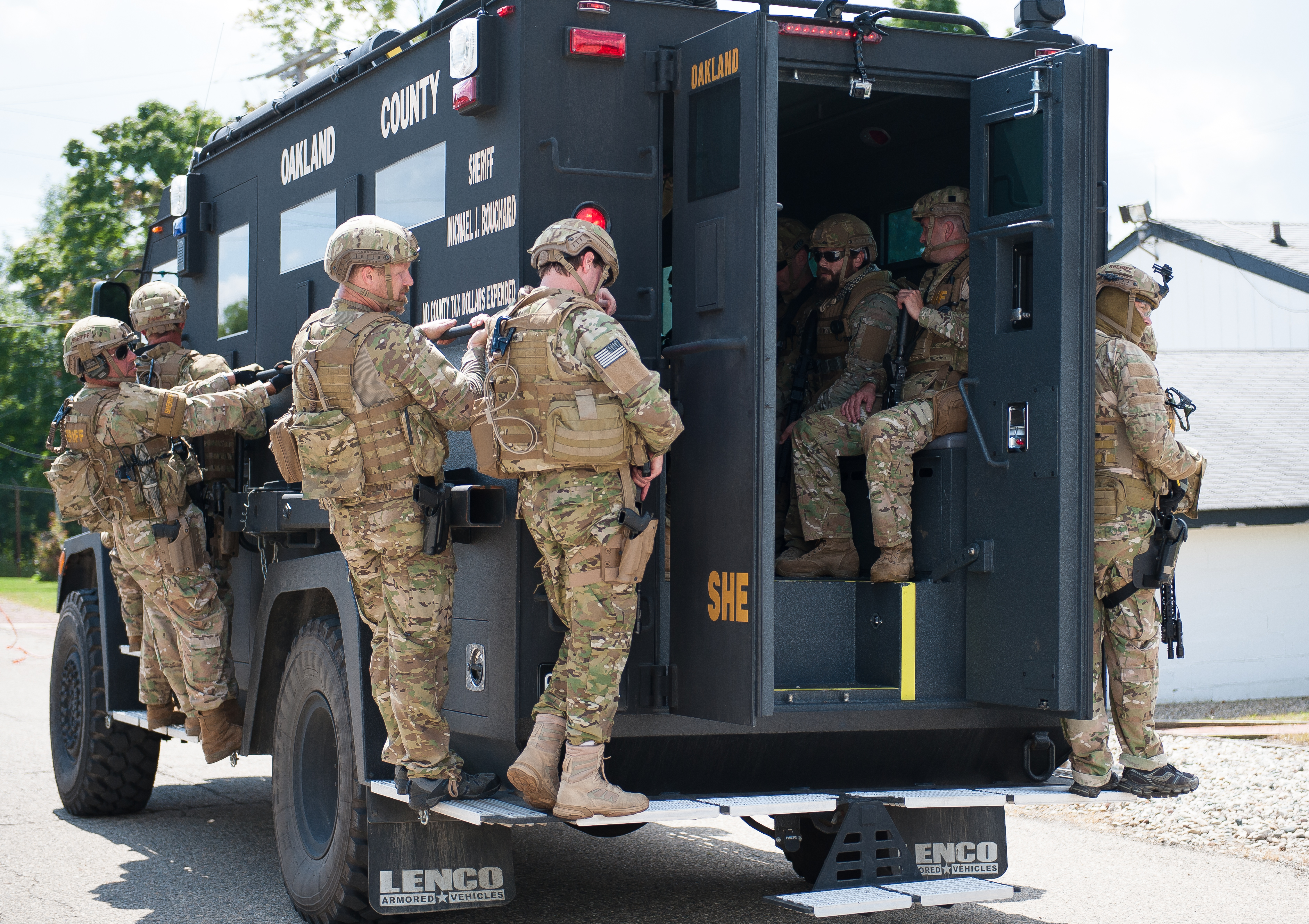 Special Weapons And Tactics Team Swat Sheriff