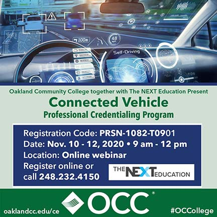 Connected Vehicle Professional Credentialing Program